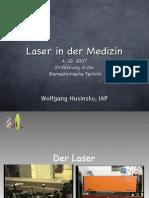 Laser in der Medizin Husinsky 2007