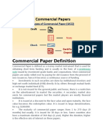 Commercial Paper Definition