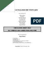 Dagbani Dictionary CD