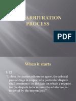 THE ARBITRATION PROCESS(1)