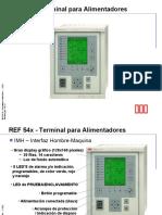 2-REF 54x – Terminal para Alimentadores