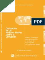 Conv. Nac. Unidas contra Corrupcion - Nuevos Paradigmas