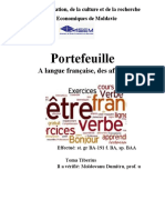 franceza-Portofoliu