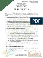 Certification SalinTUBIG CY 2020