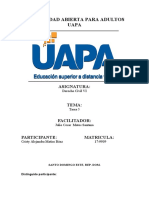 Cristina tarea 5 de Derecho Civil VI..