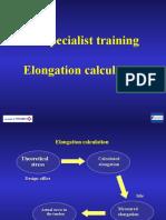 Elongation calculation