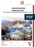 Thioflex 600_Joint Sealant
