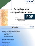 Recyclage des composites carbone