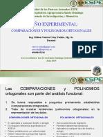 MVUP_COMPARACIONES Y POLINOMIOS ORTOGONALES