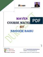 Maven by Nagoor Babupdf