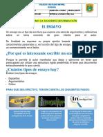 5ta fase español 5°