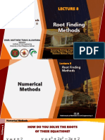 Lecture 8 - Root Finding Methods.pdf