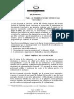 Protocolo para la realización de Audiencias Virtuales