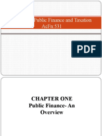 Chapter One Basics of public finance.pptx