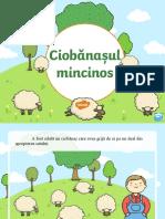 Ciobanasul mincinos - Prezentare PowerPoint.ppt