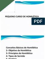 PEQUENO CURSO DE HOMILÉTICA