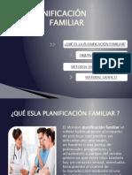 PLANIFICACIÓN FAMILIAR (EDUCACION SEXUAL) ANGIE