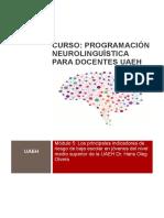 CAPSULA 5 TECNICAS DE PNL PARA DOCENTES DE LA UAEH PNL