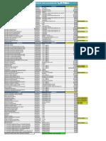 Mariscos de La Concha - Lista Precios Junio 2020