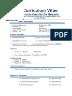 Curriculum Vitae ANTONIA CASTILLO.docx