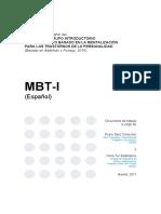 Manual MBT-I Trad Esp