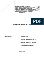 ANALISIS TEMAS 6, 7 Y  9 DERECHO CIVIL