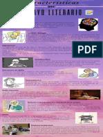 Caracteristicas del ensayo literario (INFOGRAFIA)
