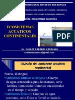 8. Ecosistemas Acuaticos. E.Continentales.