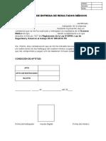CONSTANCIA DE ENTREGA DE EMO - NF