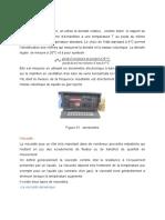 rapport de stage CRD de Boumerdes
