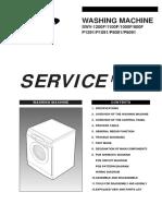 WASHING MACHINE Samsung Service manual SWV-1200F/1100F/1000F/800F P1291/P1091/P8091/P6091