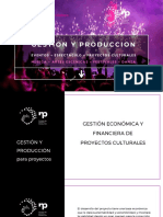 ECONOMIA para Proyectos Culturales
