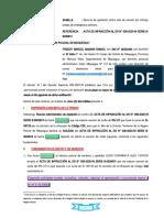 ACTA DE INFRACCIÓN AL DS N 006-2020-IN SERIE B-0000674 - MAMANI RAMOS – APELACIÓN.docx