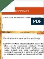 Qualitative data collection methods- ppt