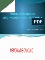 C06C DISEÑO DEL ASCENSOR - MECANICA.pptx