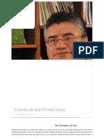 Cuento de Iván Prado Sejas | www.inmediaciones.org