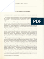 UNED Filosofía herménutica y género
