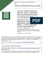 T Kelen,  F Tudos J Macromol Sci Chem A9(1), 1, 1975