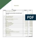 Modelo de Presupuesto Actualizado 100 invitados