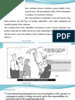 MOE 615 Lesson 2 evaluation of socio economic program