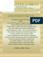 January 2011 Enchanted Forest Speacial Edition~ Enchantment~