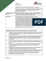 CEMEX-COVID-19 Protocolo de casilleros y vestidores  ejem