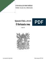 O Fortunata Rosa (S. D'India)
