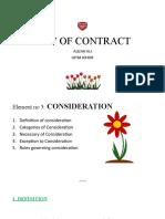 6. Consideration