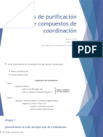 Estrategias de purificación de compuestos de coordinación [Autoguardado].pptx