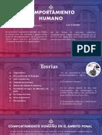 comportamiento humano 2
