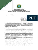 RESOLUÇÂO 61-2014 sobre extensão na UFPB - citei-