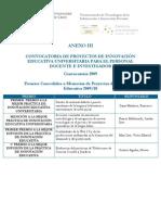 Proyecto Europa  PREMIOS Memorias 09-10 (UCA)