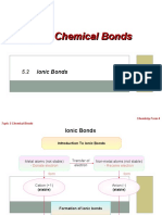 5.2 Ionic Bonds