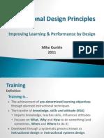 Basic Instructional Design Principles